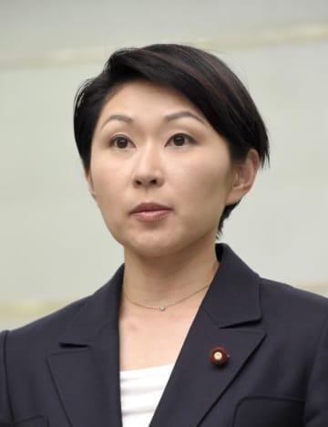 自民党の小渕優子元経済産業相