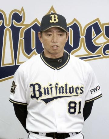 現役引退を表明したイチロー選手について語るオリックスの田口壮コーチ=22日、京セラドーム