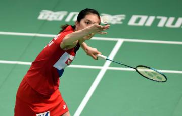 日本が準決勝進出 バドミントン·アジア混合団体選手権