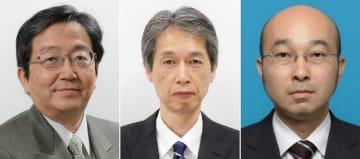 (左から)那須保友氏、渡辺和良氏、青山竜文氏