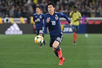 幾度となく相手最終ラインの背後を狙った鎌田だが、ゴールを奪えなかった photo/Getty Images