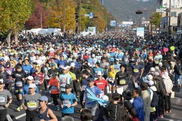 2018年のおかやまマラソン=11月11日