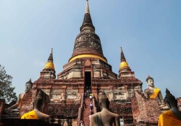 タイの古都アユタヤを訪ねて