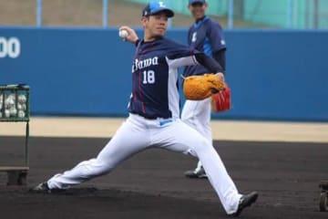 開幕投手が予想される西武・多和田真三郎【写真:安藤かなみ】