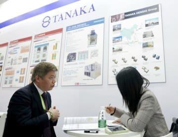 田中貴金属、中国のハイエンド半導体材料需要に照準