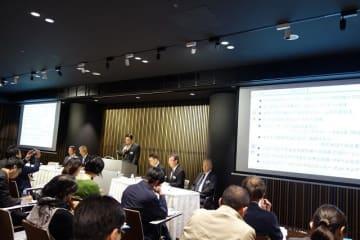 堀秀充社長が2019年度経営方針を発表