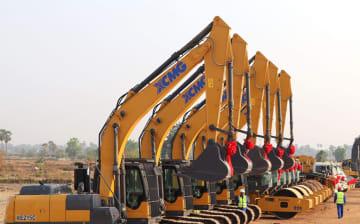 中国企業建設のカンボジア高速道路、正式着工