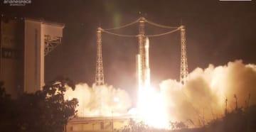 ヴェガロケットが地球観測衛星「PRISMA」打ち上げ