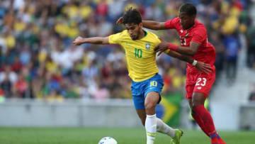 ブラジル代表のルーカス・パケタ(写真左) 写真:cbf.com.br