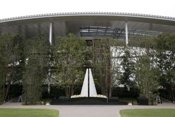尼崎JR脱線事故現場一帯を鎮魂の場として整備した施設「祈りの杜」