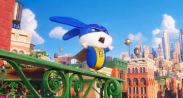 """ウサギの""""スノーボール""""がヒーローに!?超ド級のモフモフは健在『ペット2』新映像"""
