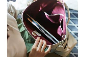 CRAFTED FOR LEXUS 2019年春の新作アイテム登場 フラッグシップセダン「LS」も採用する最高級本革を使ったハンドバッグ