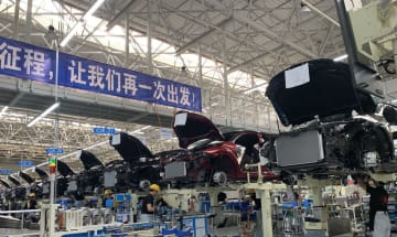 トヨタ、海外初のTNGA対応の新工場が完成 天津