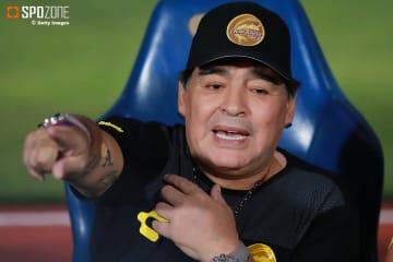 アルゼンチン代表を痛烈に非難したマラドーナ氏
