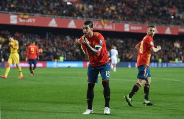 スペイン代表のラモス photo/Getty Images