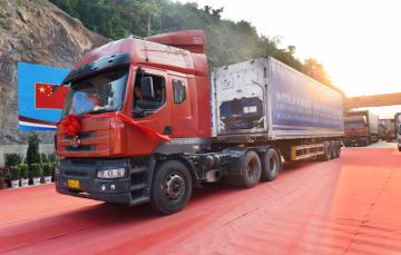 中国とベトナムを結ぶ貨物専用ルート開通