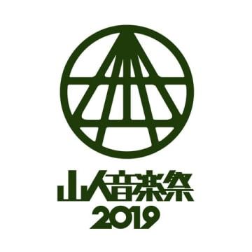 「山人音楽祭2019」のロゴ