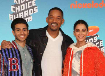 Will Smith And 'Aladdin' Co-Stars Reveal New Trailer At Nickelodeon Kids' Choice Awards [VIDEO]