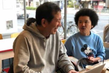 優勝予想を行った久保田さん(左)、MOBYさん【写真:編集部】