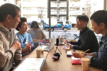 優勝予想を行った久保田さん、MOBYさん、成瀬さん、佐藤さん(左から)【写真:編集部】
