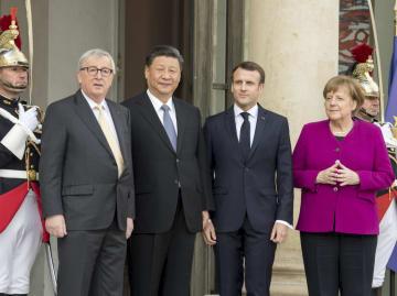 習近平主席、欧州指導者らと会談