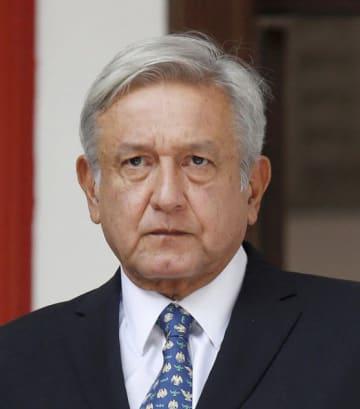 メキシコのロペスオブラドール大統領(ロイター=共同)