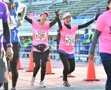 昨年のぐんまマラソンで完走を果たした企画参加者