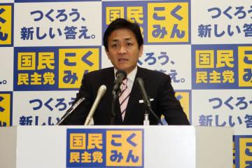 国民民主党の玉木雄一郎代表。立憲の「引き抜き工作」をどう迎え撃つのか