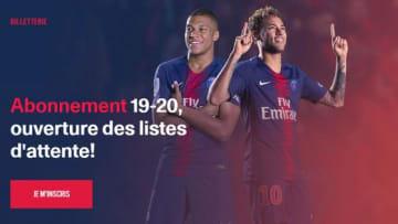 来シーズンのシーズンチケット販売サイト 写真:psg.fr