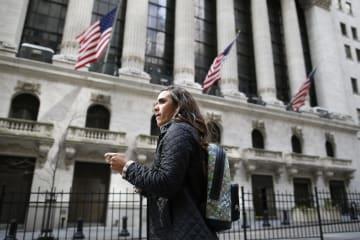 ニューヨーク証券取引所=27日(ゲッティ=共同)