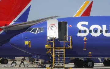 ボーイングの737MAX8の機体=27日、米カリフォルニア州(ゲッティ=共同)
