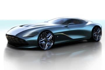 アストンマーティン DBS GT Zagato レンダリングイメージ
