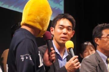 開幕4日前にもかかわらずイベントに登場した秋山選手【写真提供:文化放送】