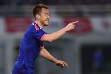 日本代表でゴールを重ねてきた岡崎慎司 photo/Getty Images