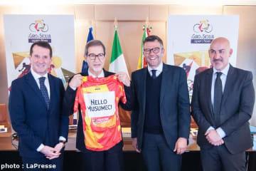 シチリア島はジロ主催者のRCSスポルトと3年契約を交わした