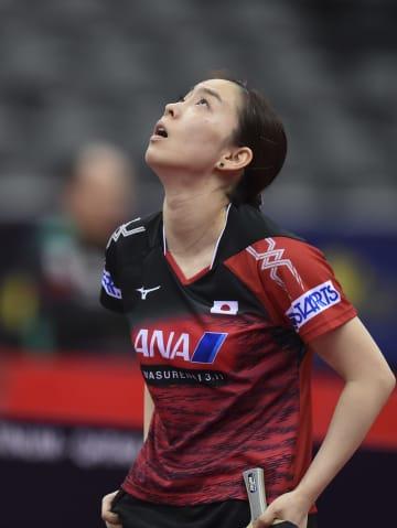 石川佳純が1回戦で敗退 卓球のカタール·オープン