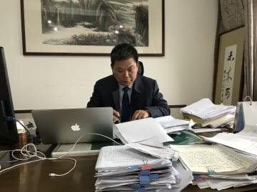 「パンダ」校長が書いた200通の手紙 浙江省杭州市