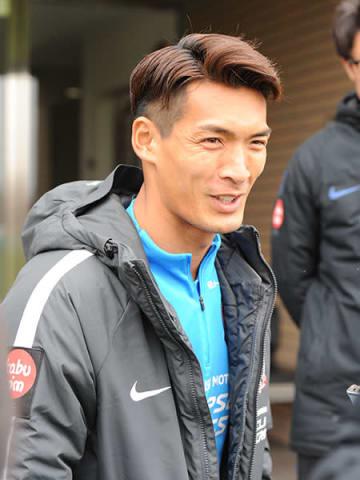FC東京戦に向けて意気込みを語る浦和の槙野=29日午前、さいたま市内