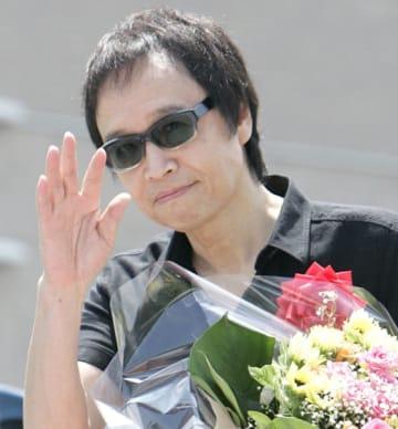 喉のがんを告白したシンガー・ソングライターの吉田拓郎(C)共同通信社