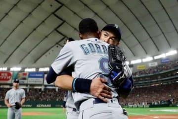 イチローの現役引退を惜しんだマリナーズ・ゴードン【写真:Getty Images】