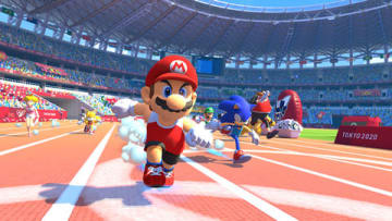 「マリオ&ソニック AT 東京オリンピック」TM IOC/TOKYO2020/USOC 36USC220506. (C) 2019 IOC. All Rights Reserved.(C) NINTENDO. (C)SEGA.