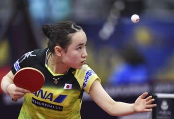 伊藤美誠が8強入り、卓球のカタール·オープン