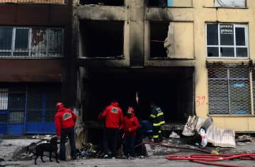 トルコ首都で火災、5人死亡、11人負傷