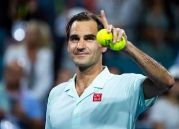 「ATP1000 マイアミ」でのフェデラー