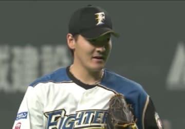 今季初登板初勝利を挙げた日本ハム・有原航平【画像:(C)PLM】
