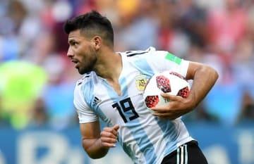 アルゼンチン代表でプレイしてきたアグエロ photo/Getty Images