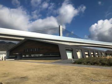 新名神高速道路、新四日市ジャンクション~亀山西ジャンクション間開通で、クルマ旅の際はますます利用したいアクアイグニス片岡温泉。