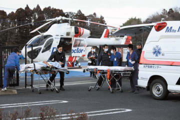 「D-Call Net」を利用したドクターヘリを活用した重傷者の緊急搬送
