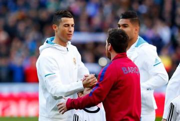 世界最高を争ってきたメッシとロナウド photo/Getty Images