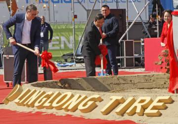 山東玲瓏タイヤ欧州工場の建設、セルビアで始まる